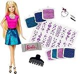 Mattel Barbie CLG18 - Glitzer-Haar Barbie
