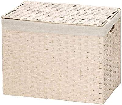 ちどり産業(Tidorisangyou) バスケット グレー S: W33×D19×H24cm、M: W38×D25×H28cm、L: W44×D31×H34cm