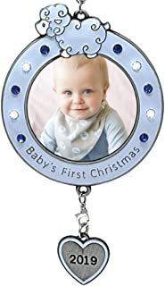 pewter photo christmas ornaments