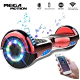 Mega Motion Hoverboard Self Balance Scooter Elettrico E1-6.5' Elettrico Segway - Bluetooth - (Chrome...