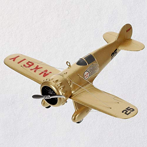 Hallmark Keepsake Christmas Ornament 2019 Year Dated Sky's The Limit 44 Airplane, Wedell Williams Model 4423