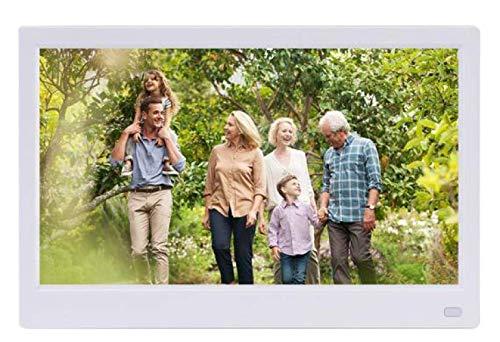 TUNBG digitale fotolijst digitale fotolijst Ips Full-View digitale fotoalbum 1080P Hd led elektronische fotolijst Zwart, 11,6 inch