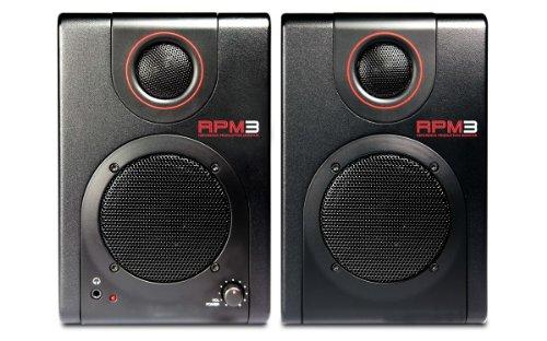 AKAI Professional RPM3 Casse Monitor Attive Amplificate con Scheda Audio e Interfaccia USB, Coppia