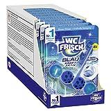 WC FRISCH Kraft Aktiv Blauspüler Ozeanfrische, WC-Reiniger, 10 Stück, Farbspüler mit 50 Prozent mehr Glanz