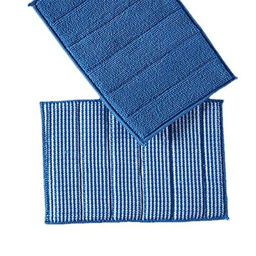 5 Stück Mikrofaser Reinigungstuch Dunstabzugshaube Herd Reibtuch Dunstabzugshaube Wisch Peeling Schwamm Küche Blau Reinigungsmittel