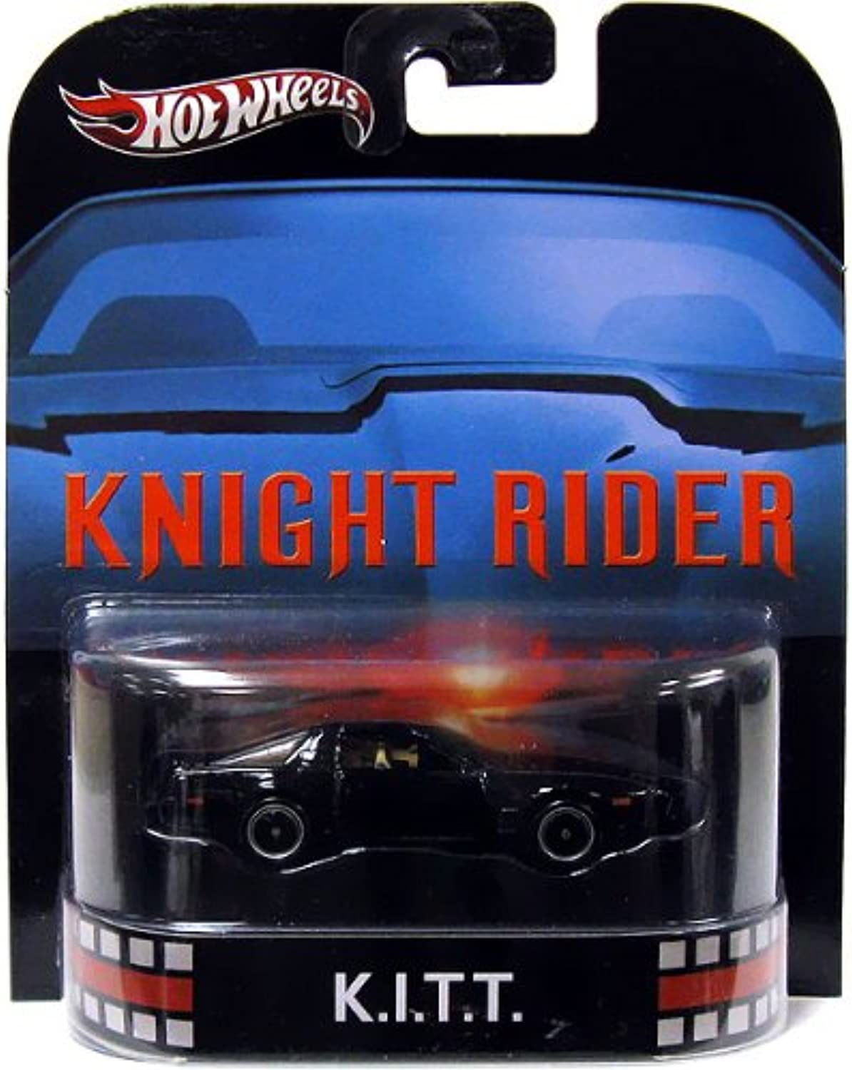 Hot Wheels Retro Entertainment Knight Rider K.I.T.T.