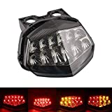 MZS Tail Light Turn Signal LED Integrated Blinker Compatible with Ninja 250R...