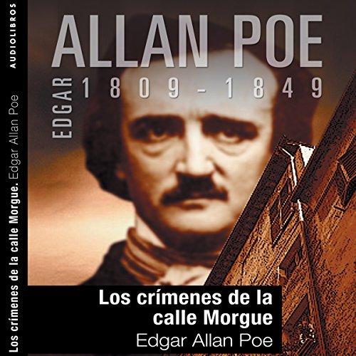 Diseño de la portada del título Los crímenes de la calle Morgue