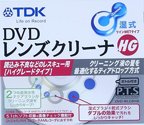 TDK DVD lens cleaner wet high-grade type [DVD-WLC8HG] (japan import)