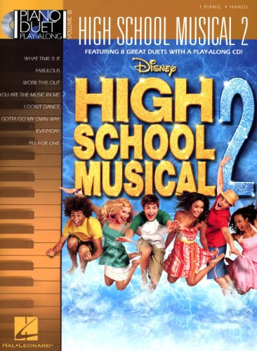 Piano Duet Play-Along Volume 18: High School Musical 2. Partitions, CD pour Piano Duo