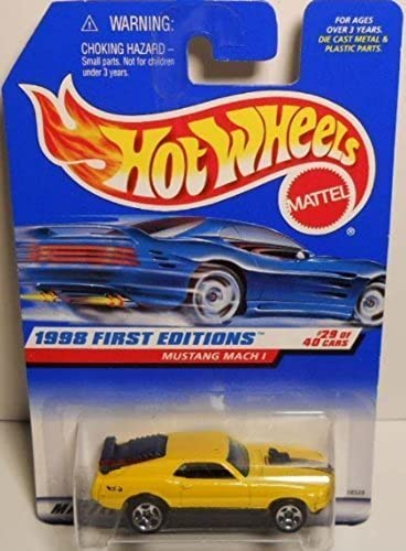 Hot Wheels 1998 First Editions  29 Mustang Mach 1 by Hot Wheels