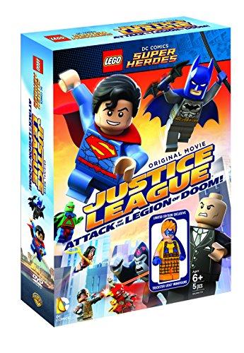 LEGO(R)スーパー・ヒーローズ:ジャスティス・リーグ<悪の軍団誕生>ブルーレイ&DVDセット(2枚組)トリックスター ミニフィギュア付き  (数量限定生産) [Blu-ray]