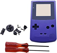 Henghx Replacement Full Housing Shell Cover Case Parts Set w Lens Screwdriver for Nintendo Gameboy Color GBC Console