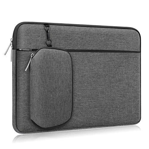 Alfheim Cartella per Laptop 14 Pollici, Impermeabile Resistente agli Urti Borsa con Tasca per Accessori, Custodia Protettiva per Notebook con Borsa Piccola Rimovibile, Compatibile per HP/Lenovo/dell
