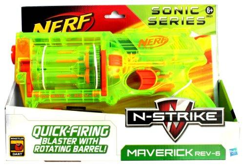 NERF N-Strike Maverick Rev-6 Sonic Series