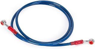 Supporto tubo freno 5/mm alluminio blu