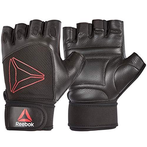 Reebok für für Lifting Handschuhe, Black/Red, L