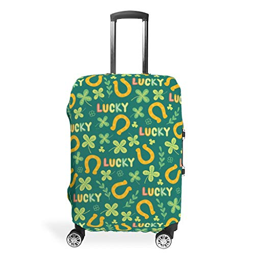 Knowikonwn St Patrick's Day Travel koffer Cover Protector - 3D Printing Multi Size pak meeste bagage Case