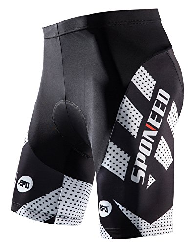 sponeed Men's Cycling Shorts Bicycle