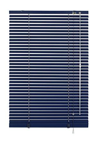 Gardinia 7835 Aluminium Jalousie 25 mm, 80 x 240 cm, dunkelblau