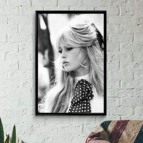 xinyouzhihi Poster drucken Leinwand Malerei Bilder Leinwand Wandkunst für Wohnzimmer Schlafzimmer Home Decorations 40x50cm Kein Rahmen