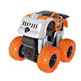 CapsA Toddler Toys Racing car Pull Back Cars Cars Toys Trucks Toys for Kids Inertia Four-Wheel Drive Off-Road Vehicle Simulation Model Toy Baby Car Model for Baby