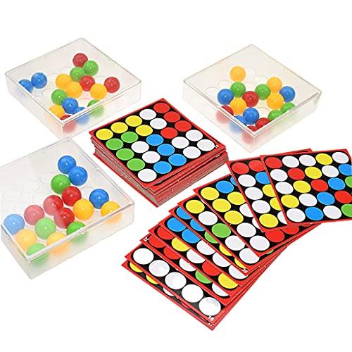 perfeclan 1 juego de bolas de dedo para niños juegos de mesa juegos interactivos para dedos, juego de bolas rodantes, juguetes para adultos de la familia