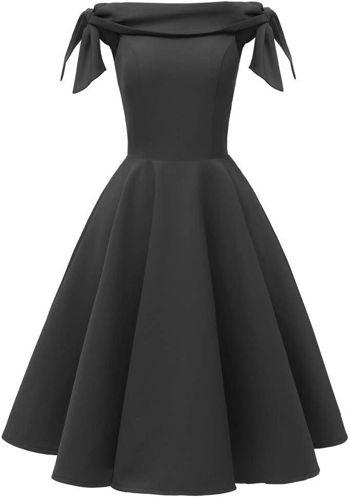 YOMXL Women's One-Shoulder Sleeveless Dress Genuine Retro Princess Skirt List price