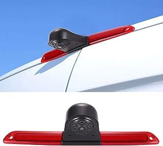 Rückfahrsystem Rückfahrkamera im 3.Bremslicht Bremsleuchte passend Mit Winkel verstellen Nachtversion IR Licht für Van Dachkamera Mercedes Benz Sprinter W906/Transit Ducato Crafter Master Caravelle