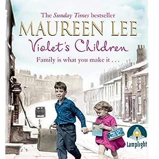 Violet's Children audiobook cover art