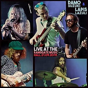 Damo Suzuki + Lapis Lazuli (Live @ Ramsgate Music Hall 21.09.2019)