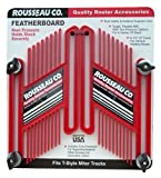 Rousseau 3301-10 Dual Pressure Featherboards, Dual Pack