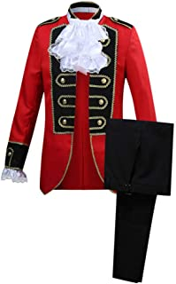 Victorian Fancy Outfit 18th Century Regency Tailcoat Tuxedo Halloween Costume
