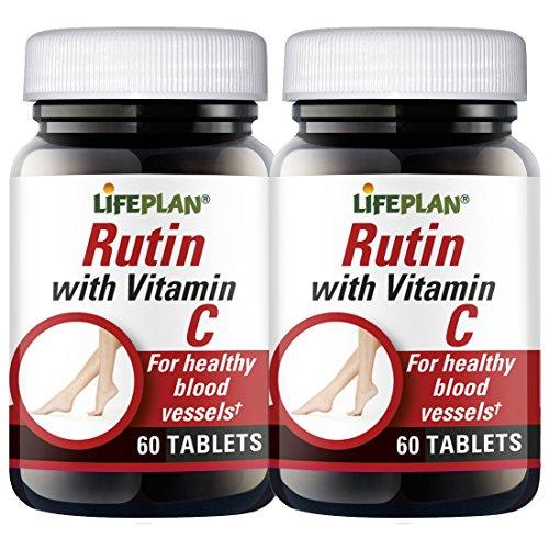 Lifeplan Rutin with Vitamin C 2 x 60 Tablets
