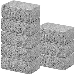8Pack Grill Griddle Cleaning Brick Block Brick-A Magic Stone Pumice Grilling Cleaner Accessories for BBQ Grills, Racks, Fl...