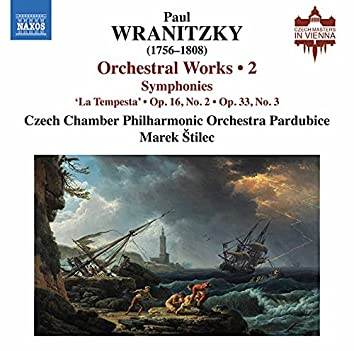 Wranitzky: Orchestral Works, Vol. 2
