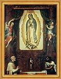 Empire Altarpiece of The Virgin of Guadalupe Miguel Cabrera Maria B A3 02894 - Póster enmarcado