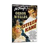 ASDZZ Citizen Kane 1941 Poster Leinwand Kunst Poster und