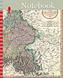 Notebook: 1799, Cary Map of Bavaria and Salzburg, Germany, Munich, John Cary, 1754 – 1835, was an English cartographer, John Cary, 1754 – 1835, English cartographer