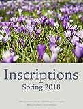 Inscriptions: Spring 2018