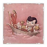 マークライデン《死んだキャラクター》シュールレアリストキャンバスアート油絵アートワークポスター写真壁の装飾家の装飾-70x70cmx1フレームなし