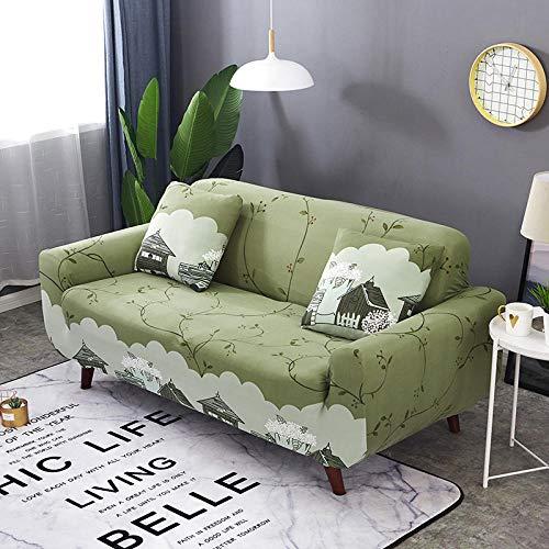 Funda Elástica de Sofá 1 Plaza Fundas de sofá Fundas de sofá elásticas para Sala de Estar, Funda elástica para Silla de sofá Toalla de sofá de 90-140 cm (1 Pieza)