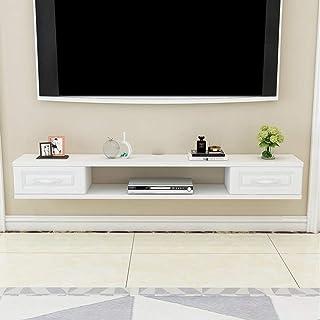 Stand de fleurs Étagère Étagère rangement Étagère flottante Tv Meuble Tv Meuble avec tiroir chambre salon étagère murale é...