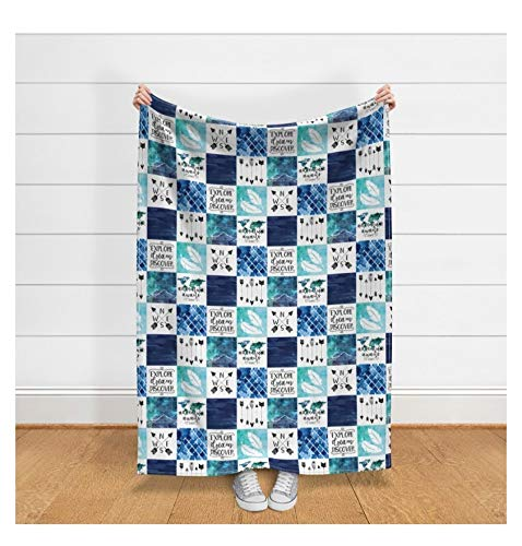 Personalized Minky Baby Blanket Custom and Handmade Just for You Explore Now!
