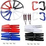 AVAWO Upgraded 4 Colors for Syma X5 X5C X5C-1 Spare Parts Main Blade...