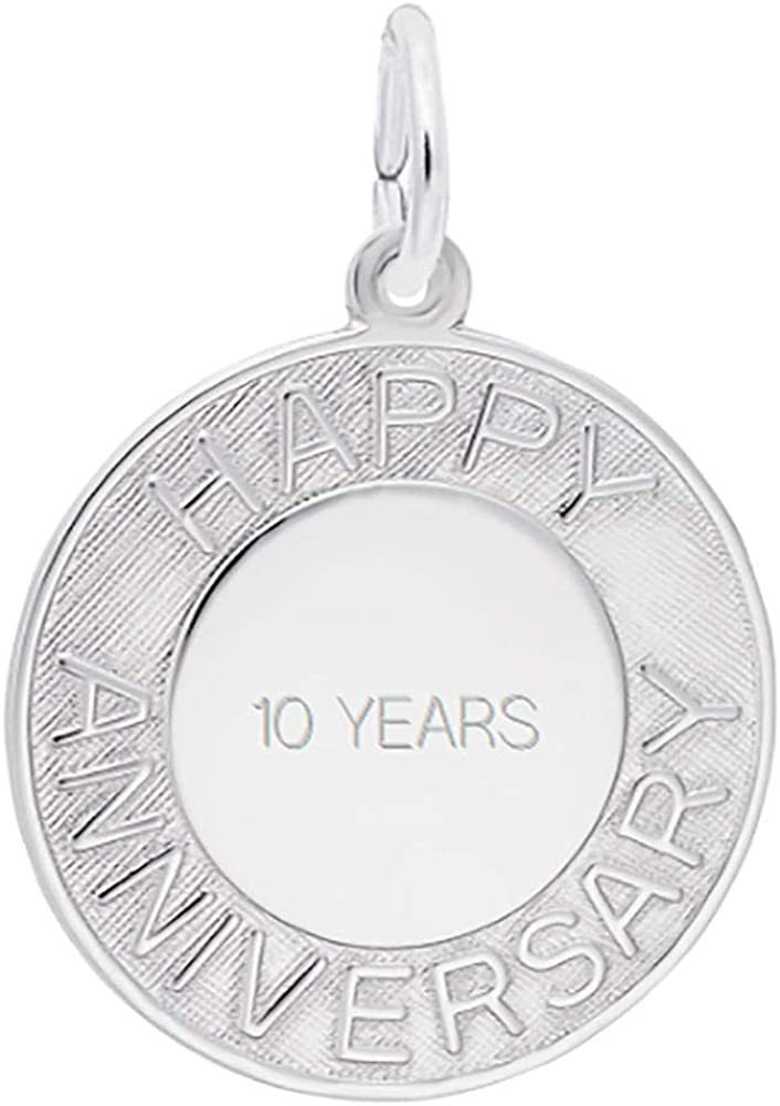 Custom Engraving 2021 autumn and winter new Rembrandt Charms Anniversary service Happy Charm