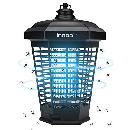 Elektrischer Insektenvernichter 4200V, Insektenfalle Mückenlampe 18w Keine giftigen Chemikalien Wirksam zum Reduzieren Fliegender Insekten für Innen Schlafzimmer und Gärten