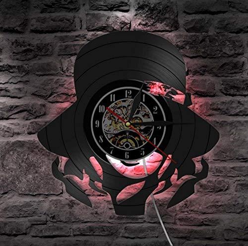 Guokaixyz Reloj De Pared Hermosas Damas Led Lámpara De Pare