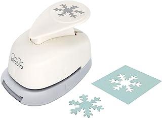شکل Snowflake Bira 5/8 اینچ ، کریسمس پانچ ، اهرم اکشن پانچ کاردستی برای کاغذ چاپ کارت های ضبط کتاب هنر