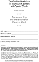 The Carolina Curriculum for Infants and Toddlers with Special Needs: Assessment Log and Developmental Progress Charts (10-Pack) by Nancy Johnson-Martin Ph.D. (2004-05-28)